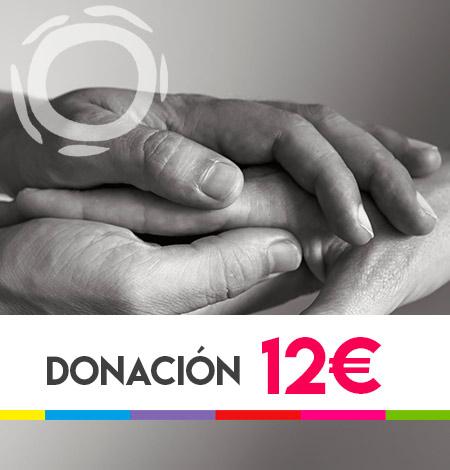 donación 12 euros