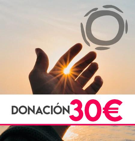 donación 30 euros